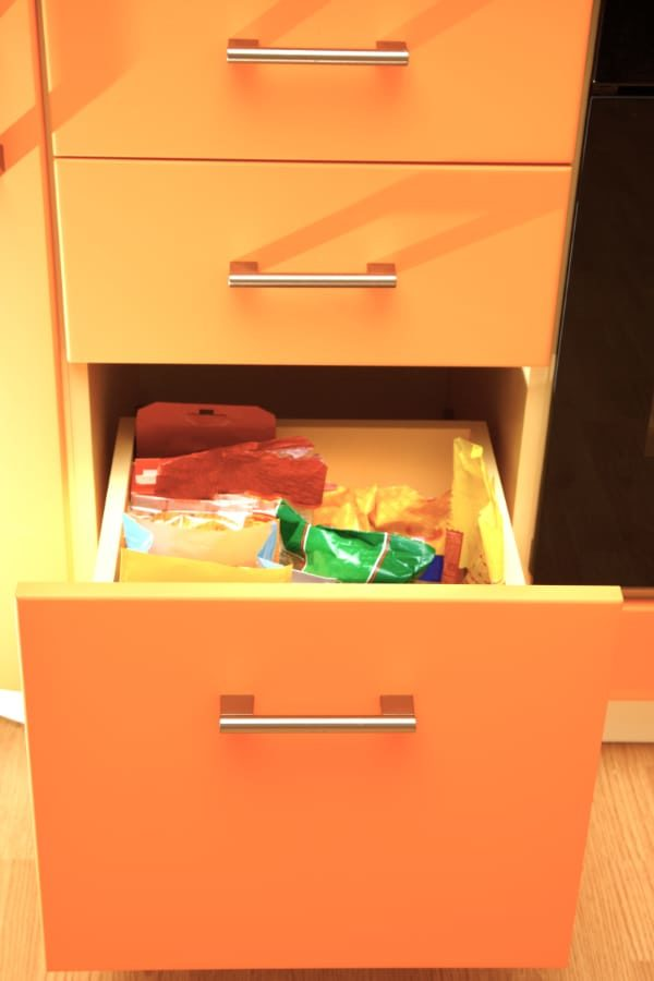 How to Fish out Something Stuck Behind a Drawer {Without