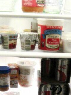 Inside of refrigerator