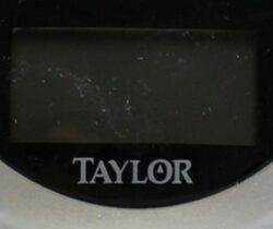 Problems with Taylor bathroom scales