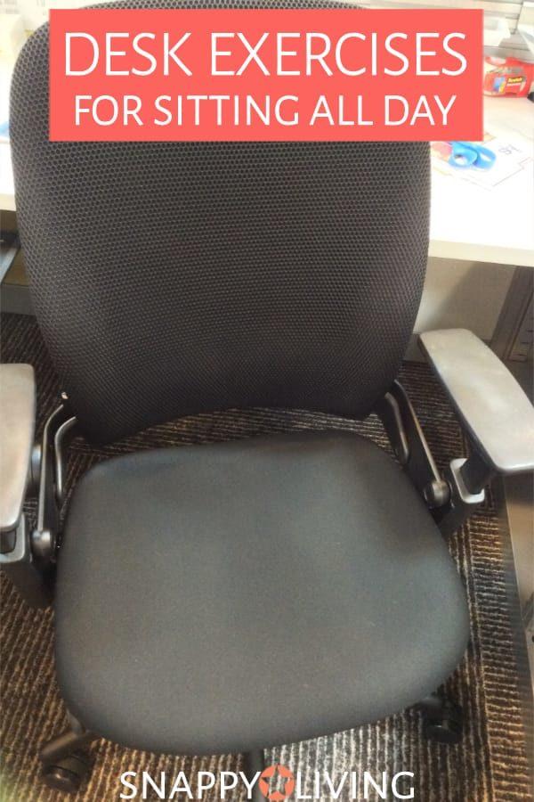 Desk chair in office