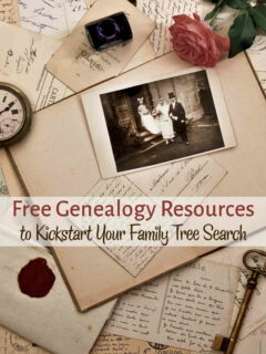 Old photos and documents used to trace genealogy