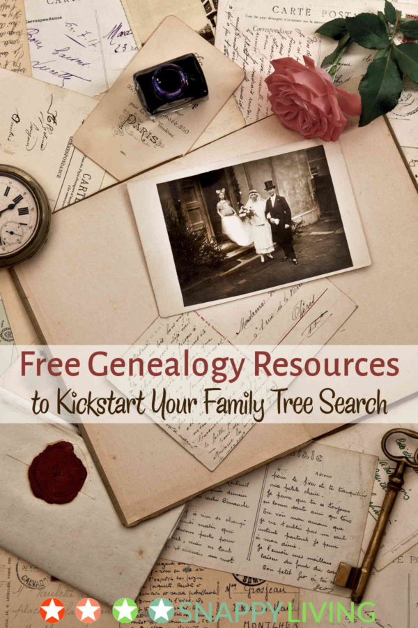 Tracing your family tree can be so rewarding. These free genealogy resources will help you get started without having to invest in a paid service. You can search old newspapers, old records, and so many other resources for free.