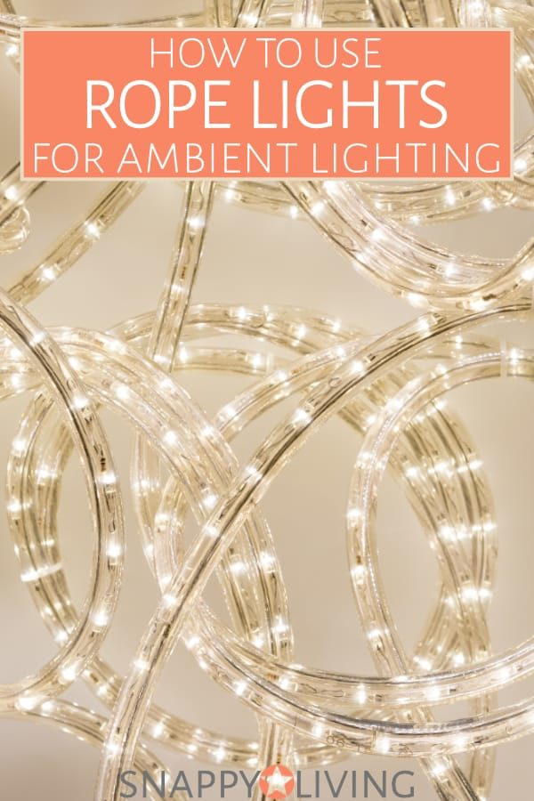 One of the most attractive ways to create soft, diffuse lighting also happens to be one of the cheapest and most energy-efficient. Learn how to use rope lights to line ceilings or furniture for beautiful effects.