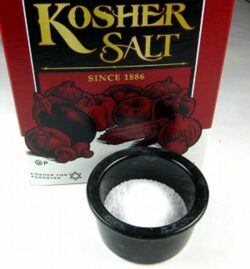 Salt as a home remedy