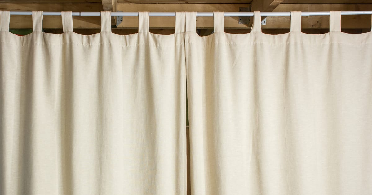 how to make living room curtains