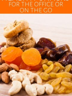 Assortment of nuts and dried fruits