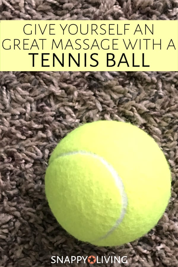 Tennis ball on carpet