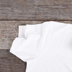 White shirt without sweat stains