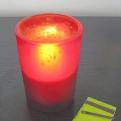 Make new candles out of old ones