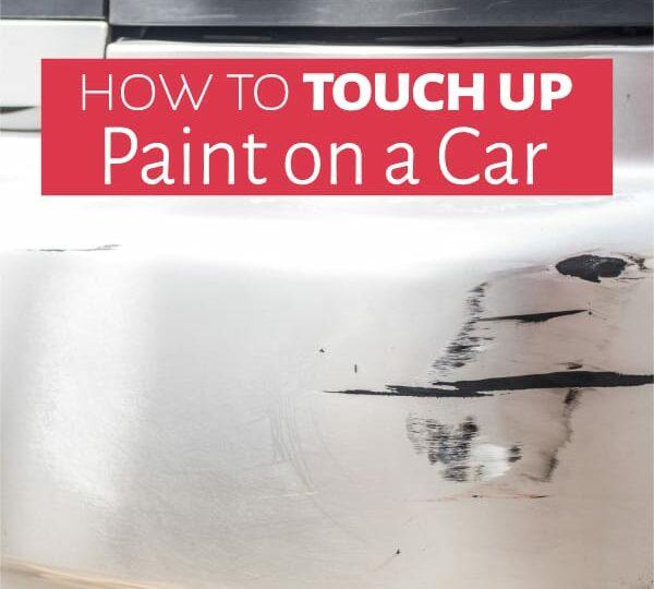 Minor scratch on car bumper