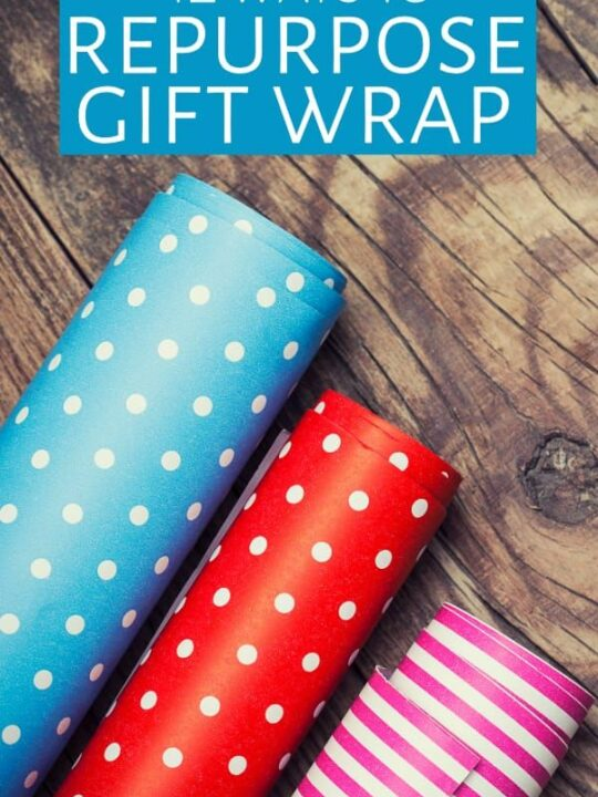 Three rolls of all-occasion gift-wrapping paper