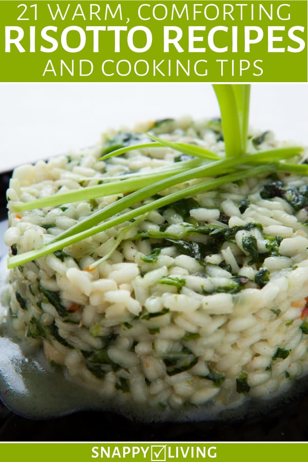Risotto recipe on plate