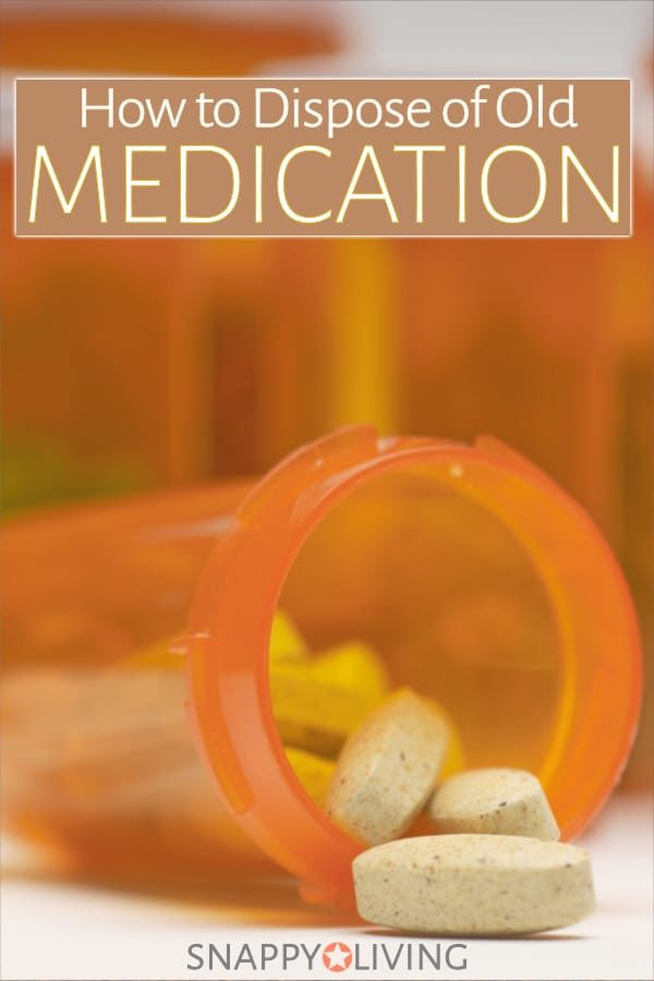 How are you supposed to handle medication disposal? Throw it in the trash? Flush it down the toilet? Mix it with kitty litter and throw it away in a plastic bag? What's the real scoop?