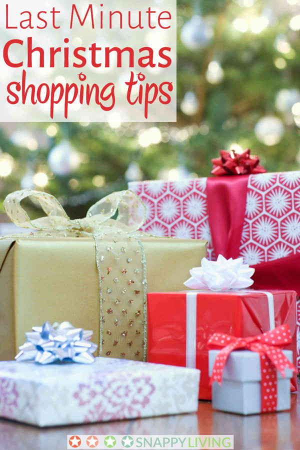 Somehow the holiday season beat you again. It's the eleventh hour, and and you've got people you haven't yet bought gifts. You needissome last minute Christmas shopping tips that will get those gifts off your list.
