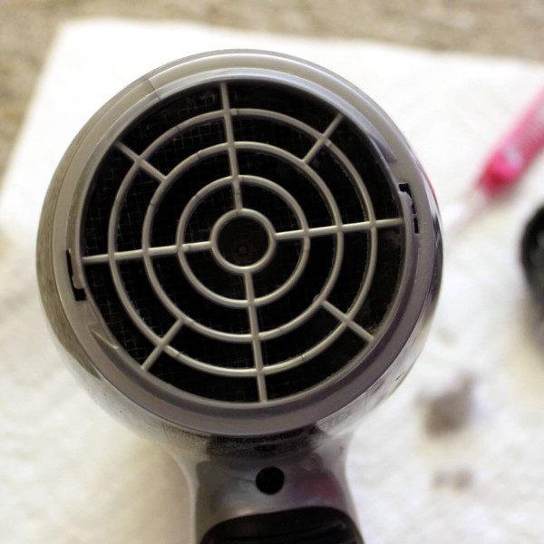 Hair dryers tend to collect hair and dust in their vents. Cleaning it out can prolong the life of your hair dryer. Not cleaning it can, in my experience, cause it to shoot flames out the back end.