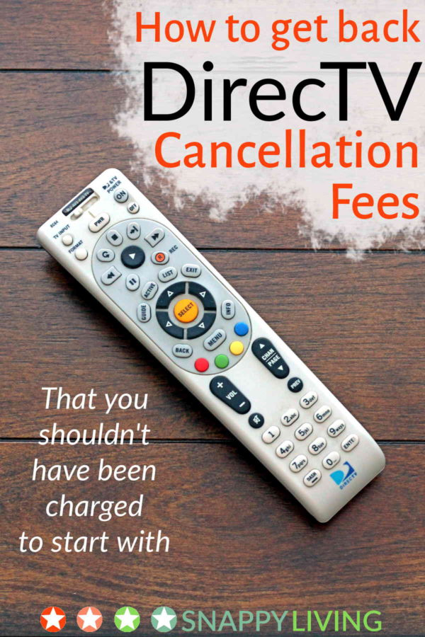 I got charged DirecTV cancellation fees even though I'd finished me two-year contract! Here's how I got out of those unfair fees. This has worked for hundreds of my readers!
