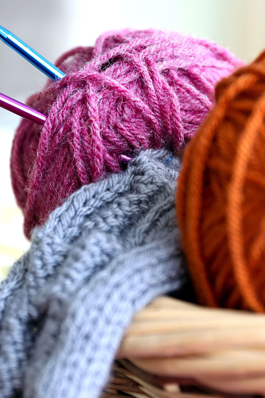 Knitting Patterns And Yarn