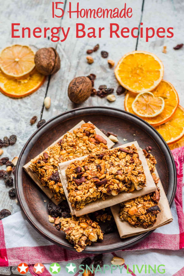 These energy bar recipes are awesome! Not only can you save money, but you get to choose your own ingredients. I especially love the no-bake ones! So easy!