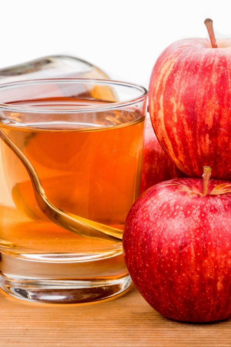 Apple cider vinegar energy drink