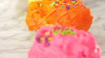 Colurful cupcakes