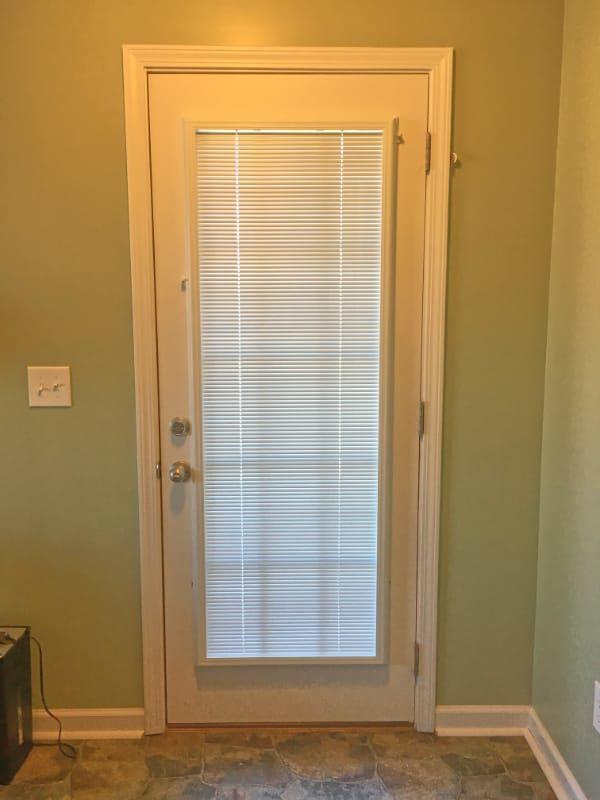 Door Blinds Transform A Glass Door Snappy Living