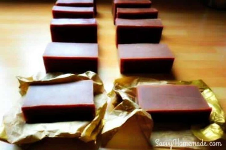Yummy Homemade Chocolate Soap Recipe