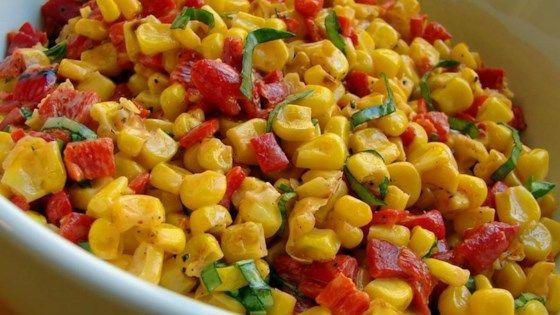 Corn Salad with Creamy Italian Dressing Recipe