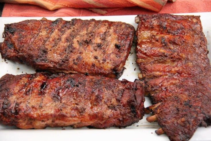 How to Make Easy Carolina Ribs with Vinegar Based BBQ Sauce