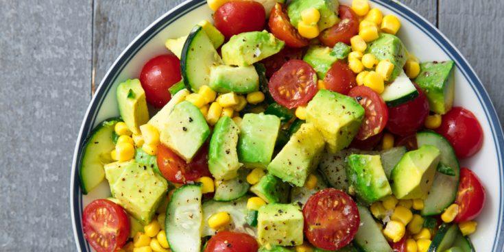 Best Avocado & Tomato Salad Recipe