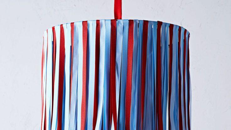 July Fourth Ribbon Chandelier